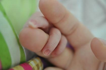 Kobieta, która urodziła nie swoje dziecko.