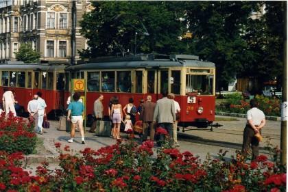 Historyczny tor znowu pełen tramwai